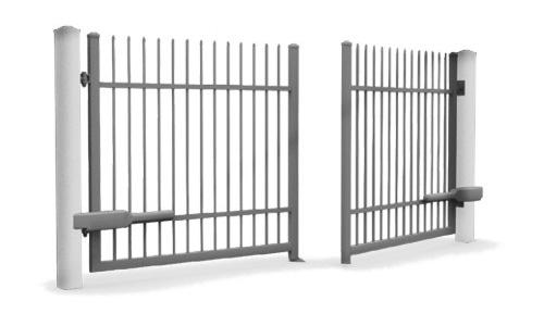 les portails battants portes cl tures. Black Bedroom Furniture Sets. Home Design Ideas