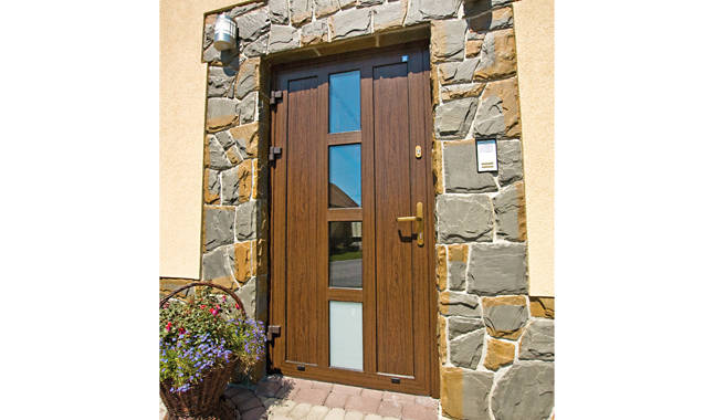 Portes en aluminium plus line portes cl tures for Porte cloture aluminium